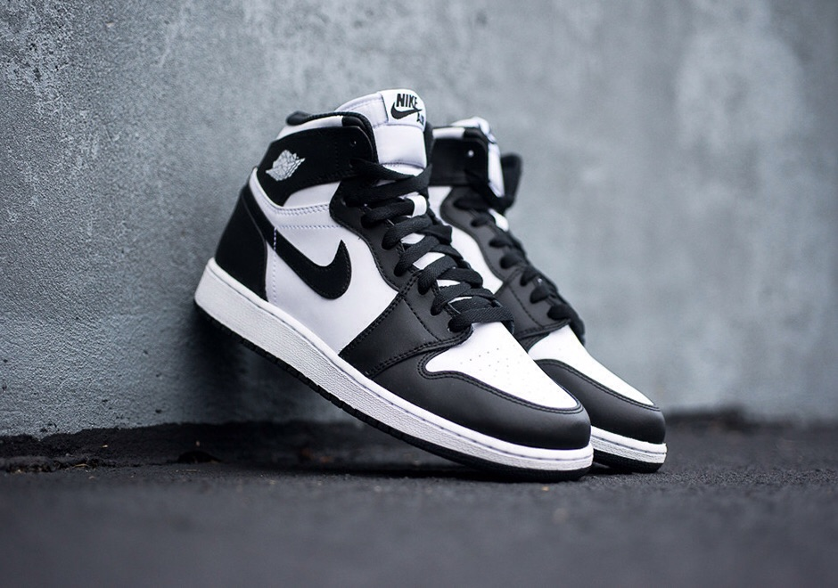 "premium selection be57c c9c44 Air Jordan I Retro High OG ""Black White""   THE DROP"
