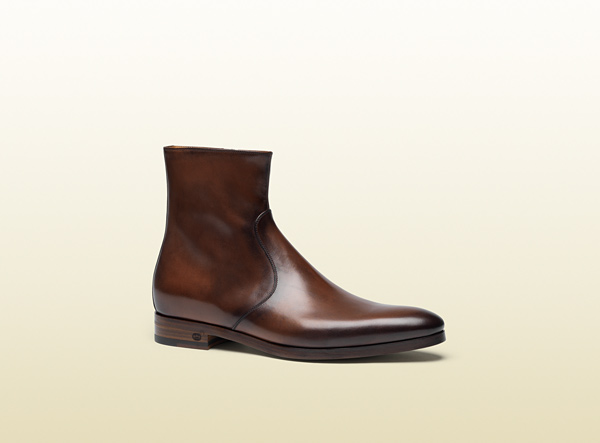 Shaded Leather Boot- $970 USD