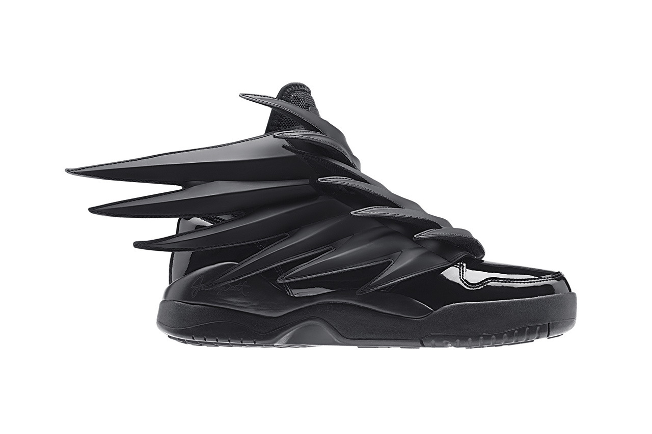 "0e5a4bc62e8d Jeremy Scott x adidas Originals JS Wings 3.0 ""Dark Knight"""