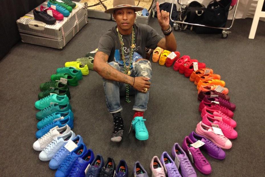 Pharrell Williams Has Been Cookin Up