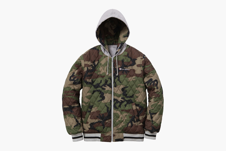 e39df3402a10a Supreme X Champion Fall Winter 2014 Reversible Hooded Jackets