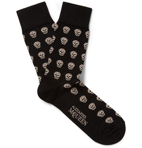 alexander mcqueen skull socks 1