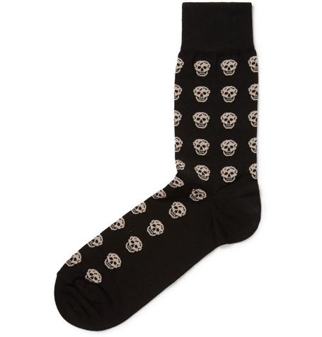 alexander mcqueen skull socks 2