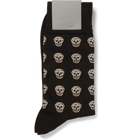 alexander mcqueen skull socks 4