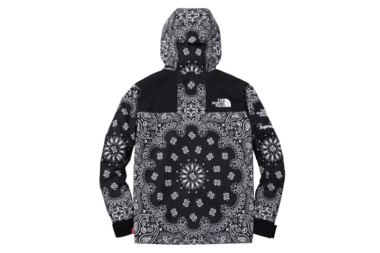 Supreme x The North Face Fall/Winter 2014 Paisley ...