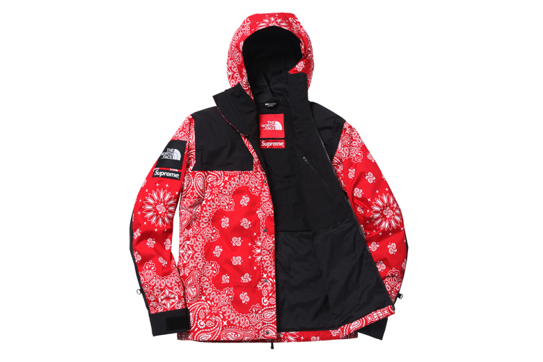 Supreme X The North Face Fall Winter 2014 Paisley Collection The Drop