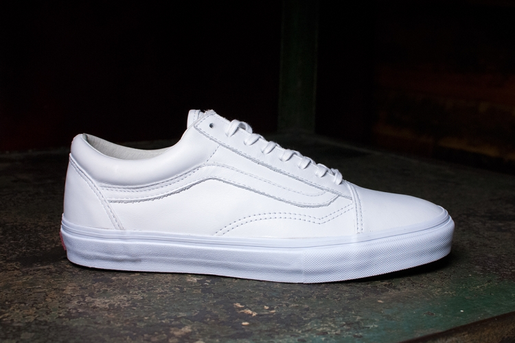 2d83286acb50 Vault by Vans All-White Sk8-Hi LX   Old Skool