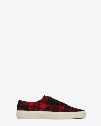 Aw14, Casual, Fashion, French, Fw14, High Fashion, Kicks, Lace Up Skate Sneaker, Lace Up Skate Sneaker Red Black, Low Tops, Lumberjack Print, Paris, Parisian, Plaid, Psych Rock, Red Black Tweed Skate Lace-Up, Red Lumberjack, Red Plaid, Saint Laurent, Saint Laurent Fall Winter 2014, Saint Laurent Footwear, Saint Laurent Lace Up Skate Sneaker, Saint Laurent Skate Lace-Up, Saint Laurent Sneakers, Saint Laurent Spring Summer 2015, Shoes, Skate Lace-Up, Skate Shoes, Sneakers, Ss15, Street Style, Streetwear, Tweed, Tweed Sneakers, Ysl, Yves Saint Laurent