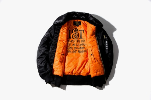 alpha industries, alpha industries bomber, alpha industries jacket, b-15 bomber, bomber, bomber jacket, casual, collaboration, collection, fashion, fashion collabs, flight bomber, flight jacket, fur collar, fw14, hoodies, i.s.t. collection, international stussy tribe, jacket, ma1, menswear, new York city, street style, streetwear, stussy, stussy 2014, stussy bomber, stussy ist, stussy x alpha industries ist collection, t shirts