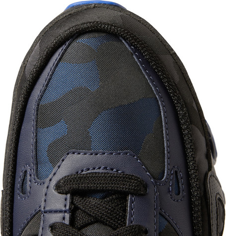 e680a4c19 Raf Simons x Adidas Bounce Camo-Patterned Canvas Sneakers ON SALE ...