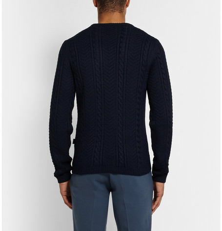 Cable Knit Sweater, Cable-Knit, Classy, Crewneck, Designer Fashion, Dress Attire, Fall Winter 2014, Fashion, Formal Wear, Fw14, Gq, Gq Style, Gucci, Gucci Aw14, Gucci Cable Knit Crew Neck Sweater, Gucci Cable Knit Sweater, Gucci Clothes Online, Gucci Fall Winter 2014, Gucci Fw14, Gucci Men, Gucci Online, Gucci Pour Homme, Gucci Ready To Wear, Gucci Sale, Gucci Sweater, Gucci Wool Sweater, High End Fashion, High Fashion, Italian, Italian Fashion, Italy, Luxury, Luxury Fashion, Made In Italy, Mens Luxury, Mens Sweater, Menswear, Mr Porter, Navy Blue Cable Knit Sweater, Ready To Wear, Street Style, Style, Sweater, Viscoe, Well Dressed, Winter Fashion, Wool