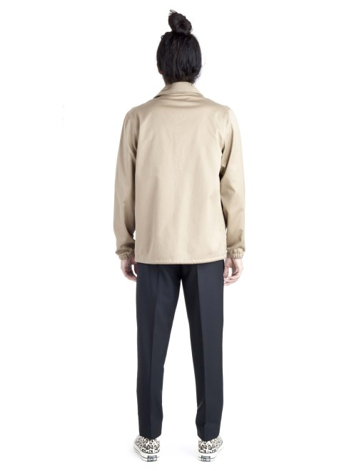 Acne, Acne Coach Jacket, Acne Studios, Acne Studios Online Shop, Acne Tony Jacket, Beige Tony Jacket, Camel, Camel Coat, Coach Jacket, Coaches Jacket, Coat, Contemporary Fashion, Cotton, Double Collared, Fall Winter 2014, Fashion, Fw14, High Fashion, High Snobiety, Hypebeast, Jacket, Luxury Fashion, Mens Fashion, Menswear, Modern Style, Normcore, Online Shop, Sand, Street Fashion, Street Style, Streetwear, Style, Stylish, Stylist, The Drop 101, Tony Lux, Tony Lux Coach Jacket, Union
