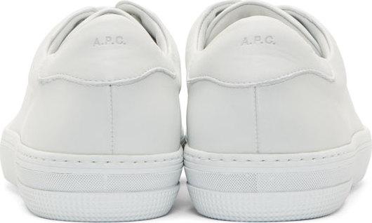 A.P.C., All White Shoes, All White Sneakers, Apc, Apc Footwear, Apc France, Apc Kanye, APC Leather Jaden Tennis Sneaker Off-White, Apc Leather Jaden Tennis Sneakers, Apc Men, Apc Paris, Apc Pour Homme, Apc Shoes, Apc Sneakers, Casual Wear, Contemporary, Craftsmanship, Design, Designer, Designer Sneaker, Fall Fashion, Fashion, Fashion House, Fashion Trends, Footwear, French Fashion, Fw14, Good Fit, High Fashion, High Fashion Sneakers, High Quality, Highsnobiety, Hypebeast, Jean Touitou, Kanye West Apc, Leather Jaden Tennis Sneakers Navy, Leather Sneakers, Luxury Fashion, Luxury Sneakers, Mens Fashion, Mens Sneakers, Mens Style, Menswear, Monochromatic, Navy Blue Leather Shoes, Navy Sneakers, Off-White Sneakers, Parisian, Parisian Fashion, Parisian Style, Pour Homme, Shoes, Sneakers, Spring Fashion, Spring Sneakers, Ss15, Ssense, Street Fashion, Streetstyle, Streetwear, Style, Thedrop, Trendy, White Kicks, White Leather Sneakers, White Shoes, Yeezus