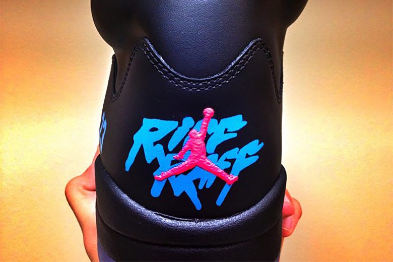 0cc5bf7813e2c5 RiFF RAFF s Air Jordan 5s Have Apparently Received Bids Upwards of ...