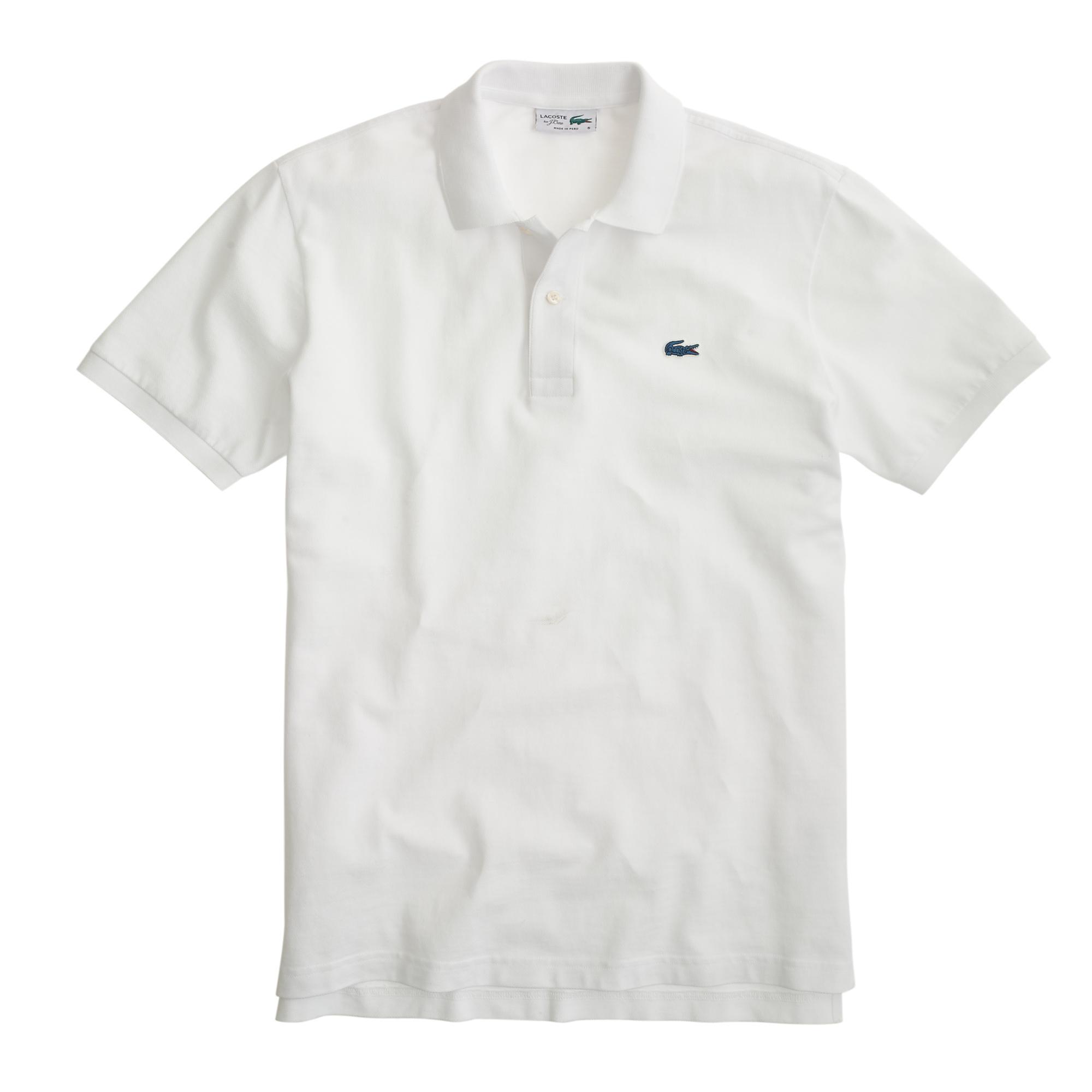 eb6ff9e2990 Lacoste for J.Crew Spring Summer 2015 Polo Shirt